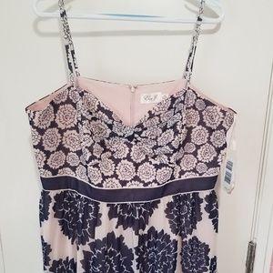 Eliza J. Floral Dress, Size 16W NWT